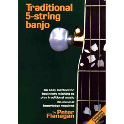 Traditional 5 String Banjo