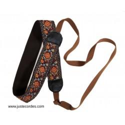 Cotton banjo cradle strap