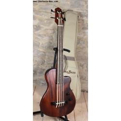 Micro Bass Solid body Fretless