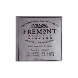 Cordes ukulélé Fremont claires
