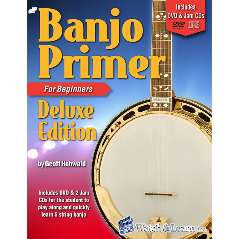 Banjo for beginner with DVD
