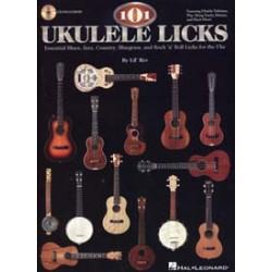 101 UKULELE LICKS CD