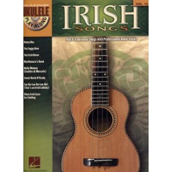 UKULELE PLAY ALONG VOL.18 IRISH SONGS CD