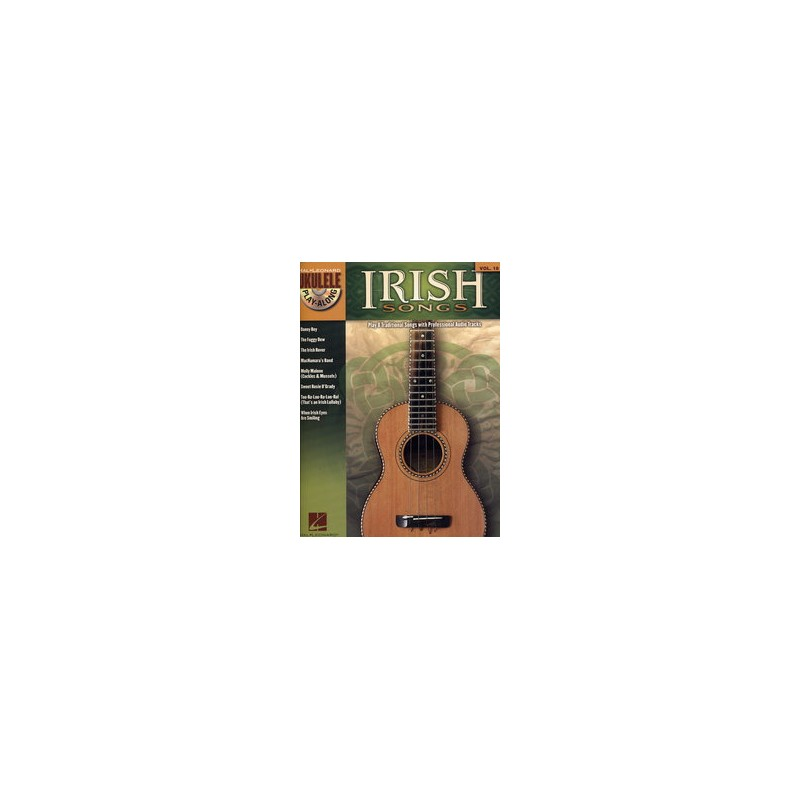 UKULELE PLAY ALONG VOL.18 IRISH SONGS CD
