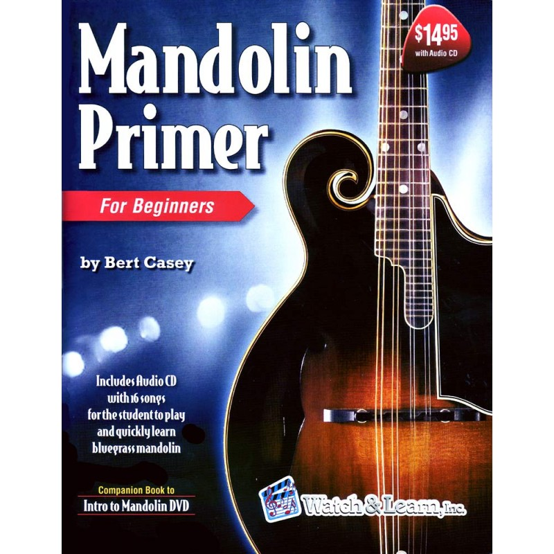 Mandolin Primer Book & CD