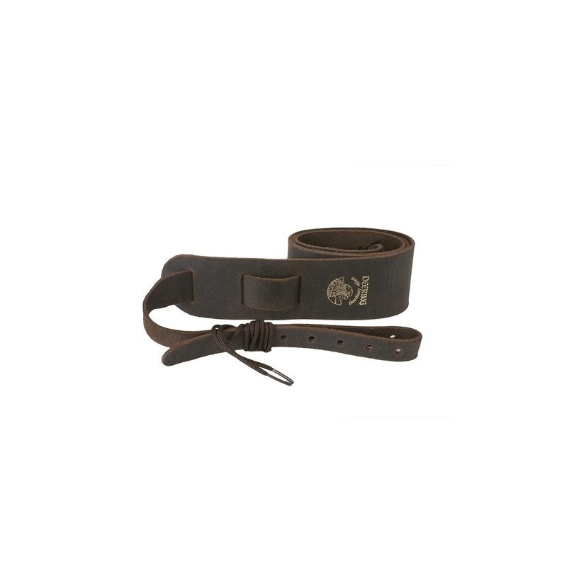 Cradle banjo strap Deering soft leather