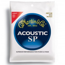 Jeu cordes guitare Martin SP bronze