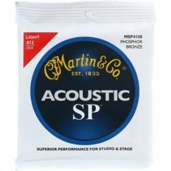 Jeu cordes guitare Martin SP bronze phosphoreux