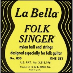 Folk singer nylon