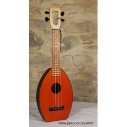 Soprano Flea ukulele Wooden...